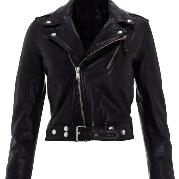 BLK DNM Jackets & Blazers - BLK DNM MOTO Leather Jacket 1